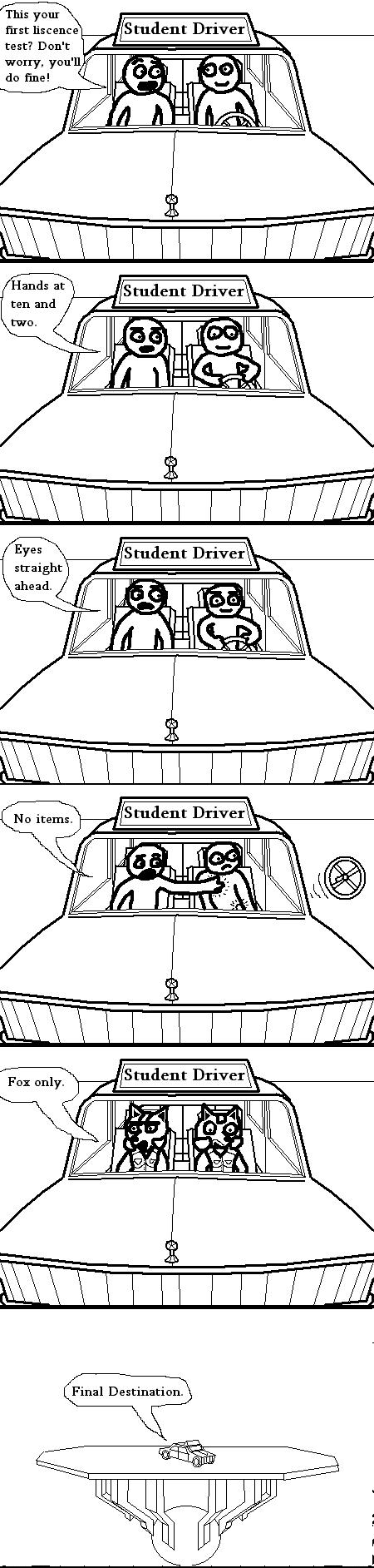 First Driver's Test