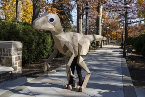 Witness the Stunning Realism of This Dinosaur Costume