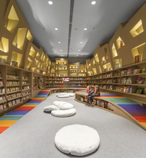 This Library is an Honest-to-God Reading Rainbow