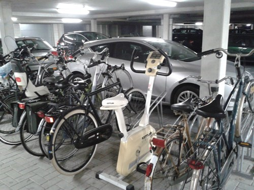 Funny, But I Need to Park My Bike Now