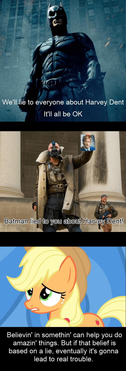 Batman Should Have Listened to Applejack
