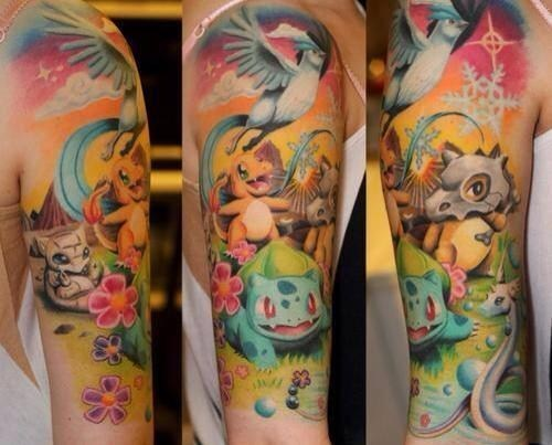A Pretty Awesome Pokémon Tattoo