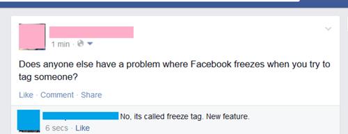 glitch,puns,facebook