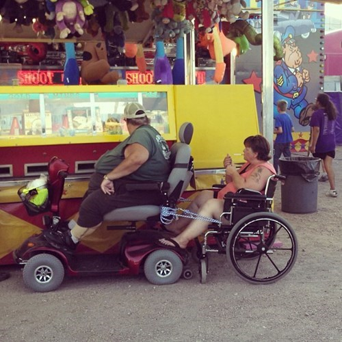 trailers,wheelchairs