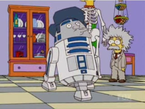 star wars,the simpsons,funny,treehouse of horror