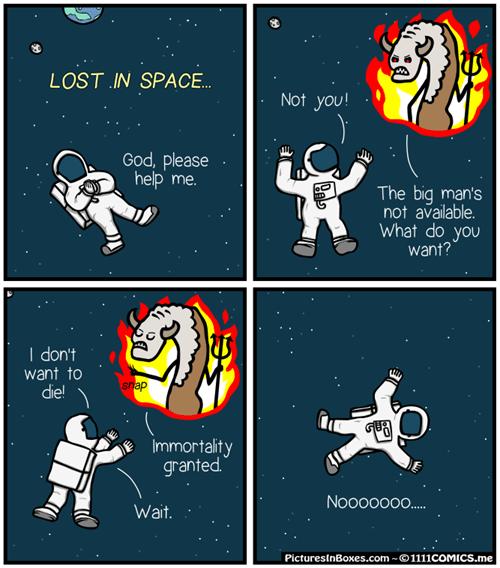hell,devil,space,web comics
