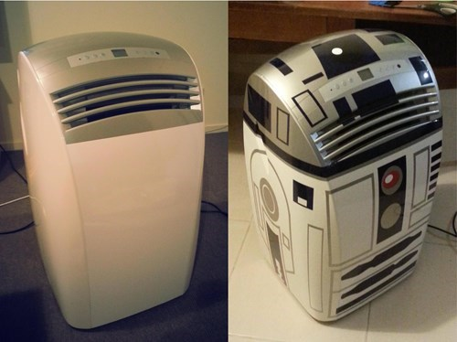 From Air Conditioner to Astromech