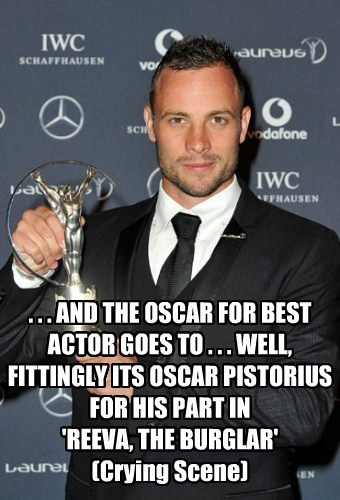 Oscar for Oscar Pistorius
