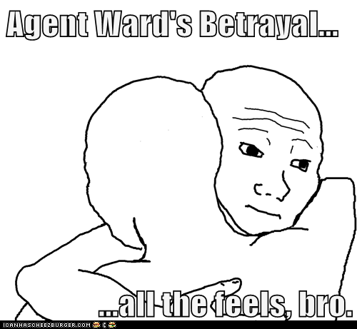 Agent Ward's Betrayal...  ...all the feels, bro.