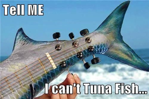Tell ME  I can't Tuna Fish...