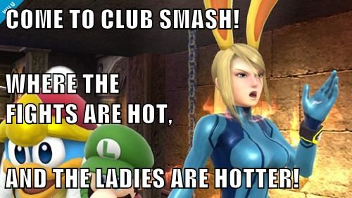 COME TO CLUB SMASH! WHERE THE                                FIGHTS ARE HOT, AND THE LADIES ARE HOTTER!