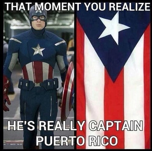 Puerto Rico Is In South America