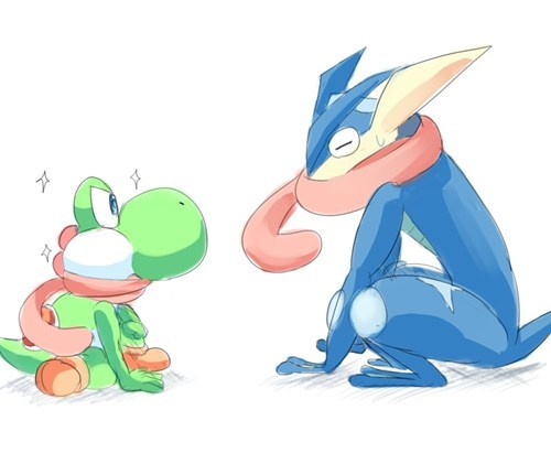 Yoshi Wants to Be Greninja