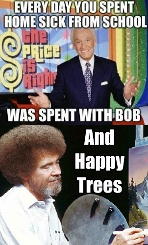And Happy Trees