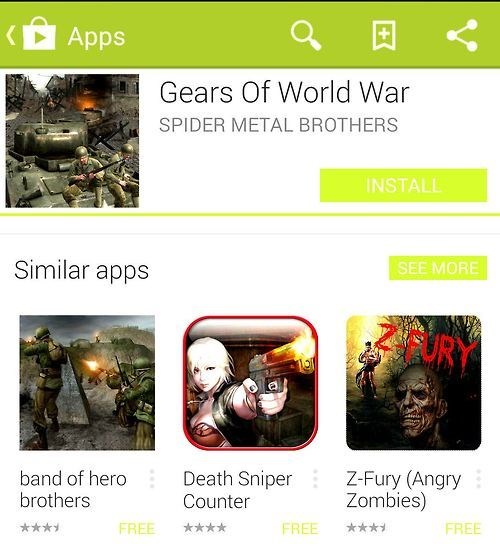 Mobile Games Are Totally Original, Guys