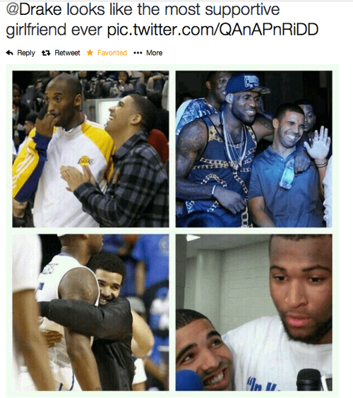 Drake,girlfriend,happy,funny