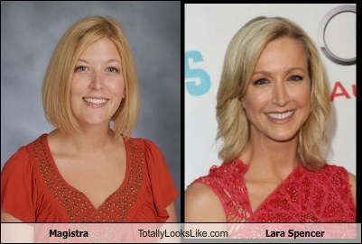 Magistra Totally Looks Like Lara Spencer