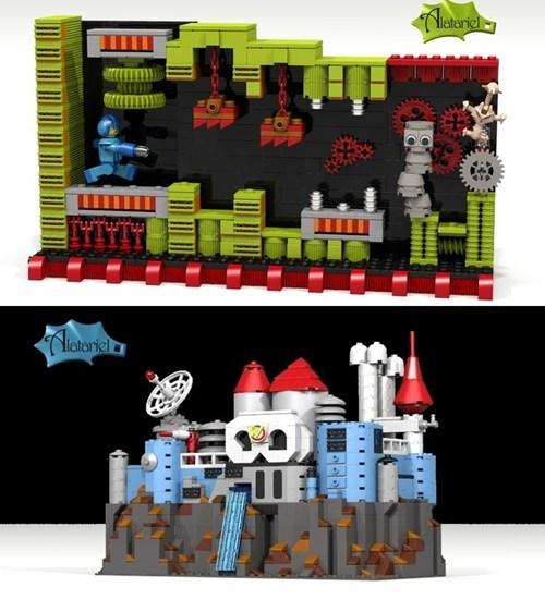 Megaman Lego Set