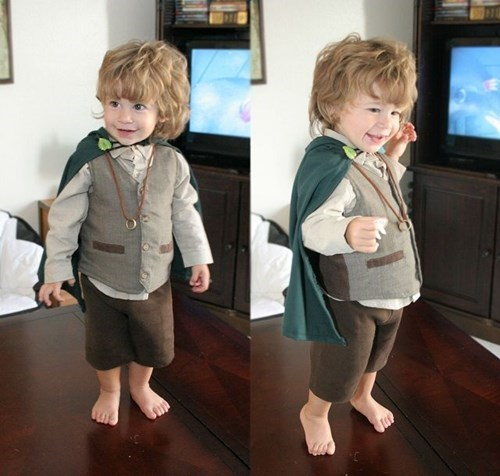 Cutest Little Hobbit Ever