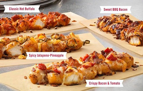 Food of the Day: Dominos Has Just Unleashed Pizza With a Breaded Chicken Crust