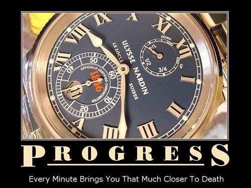 Always Progress Towards Something
