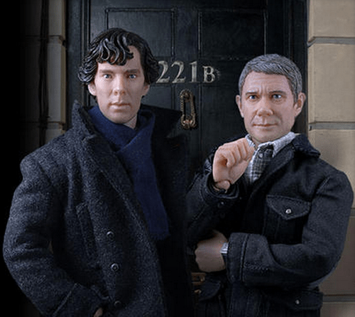 Uncanny Valley of The Day: Sherlock Toys Are Creepy