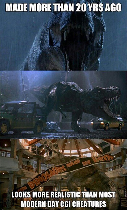 Who New Dinosaurs Would be So Futuristic?