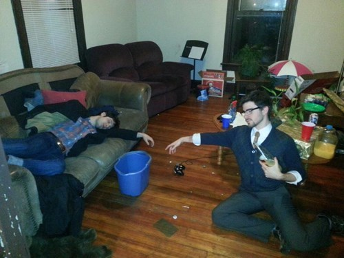 The Creation of a Drunk