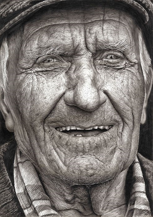 A 16-Year-Old Irish Artist Made This Sketch for a Scholarship. Needless to Say, She Won.