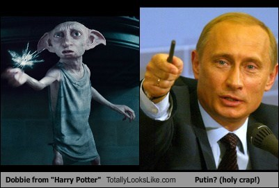 "Dobbie from ""Harry Potter"" Totally Looks Like Putin? (holy crap!)"