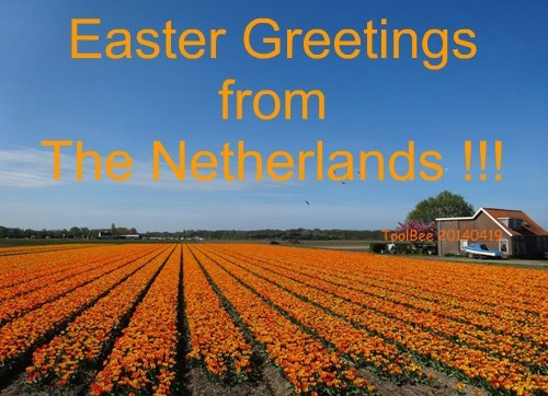Easter Greetings from The Netherlands !!!