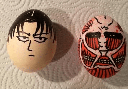 easter,attack on titan