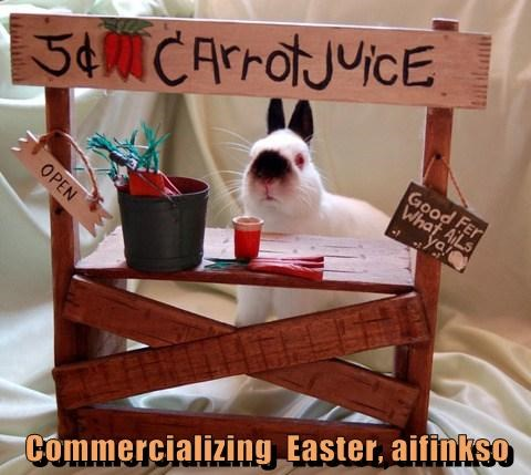 Commercializing  Easter, aifinkso