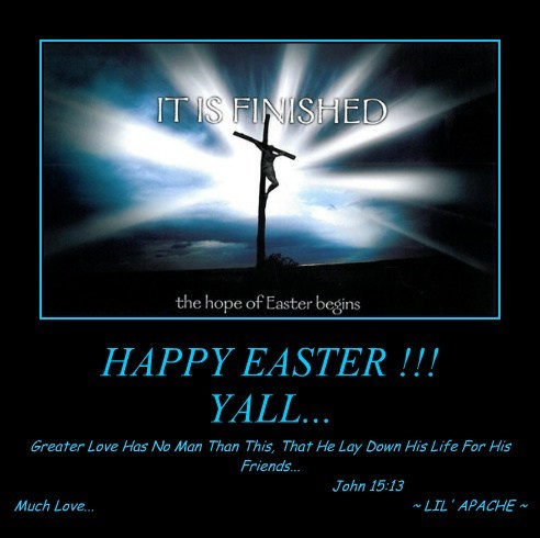 HAPPY EASTER !!! YALL...