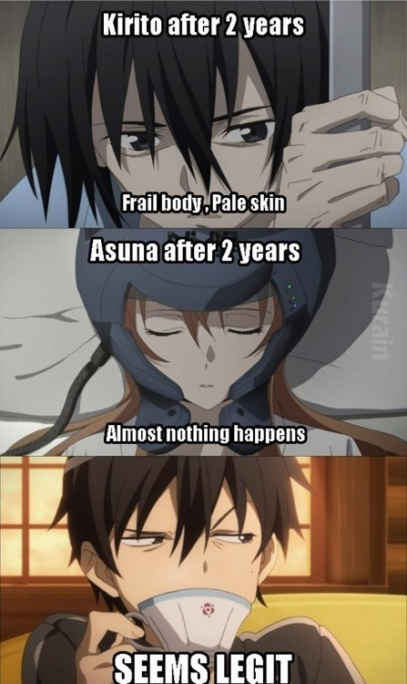 Kirito-kun, How Did You Stay So Fit?