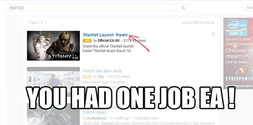 Really EA?....REALLY!!!