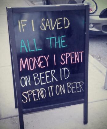 beer,money,funny,sign