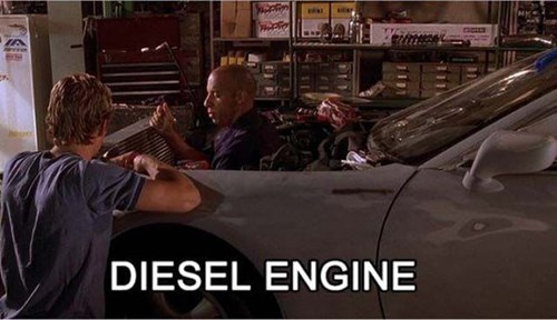 Vin Diesel has Some Serious Horse Power