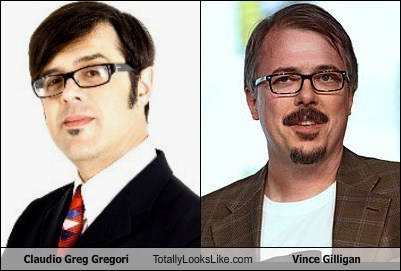 Claudio Greg Gregori Totally Looks Like Vince Gilligan