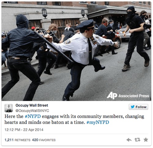 twitter,hashtag,NYPD,police