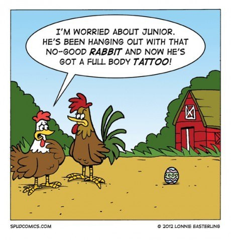 easter,eggs,chickens,web comics