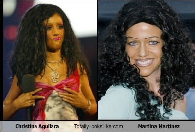Christina Aguilara Totally Looks Like Martina Martinez