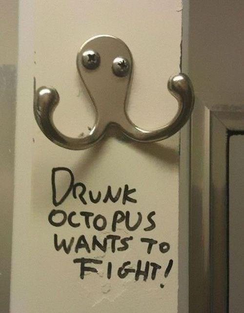 hacked irl,octopus
