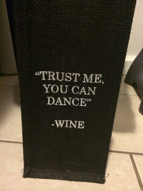 Never Listen to Wine