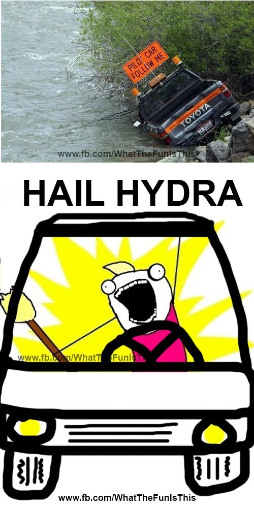 All Hail Hydra!!!