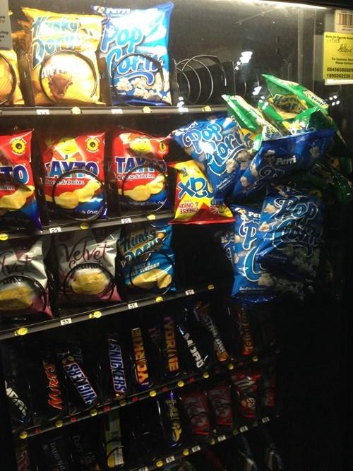 monday thru friday,work,vending machine,break room