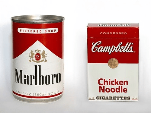cigarettes,food,marlboro,campbell's