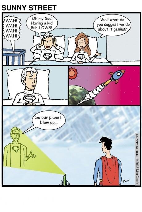 superheroes,parents,superman,web comics