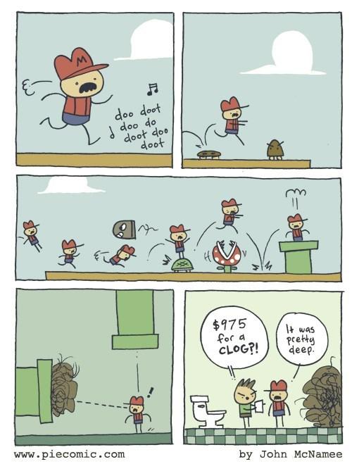 The True Ending in Mario