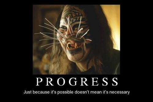 funny,necessary,progress